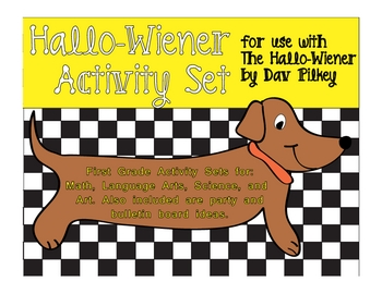 Halloween Activity Set Week based on The Hallo-Wiener by D