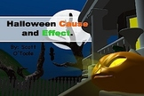 Halloween Cause and Effect Powerpoint Lesson PPT