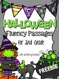 Halloween Fluency {Freebie}