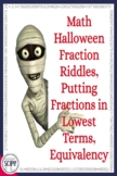 Halloween Fraction Riddles: Identifying Fractional Parts i