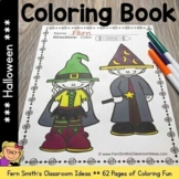 Halloween Fun! Color For Fun Printable Coloring Pages