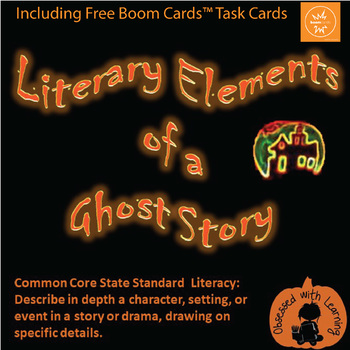 FREE Halloween PowerPoint - Literary Elements of a Ghost S