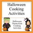 Halloween Kids Cooking Activities
