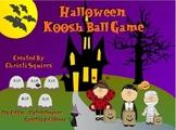 Halloween Koosh Ball SMARTBoard Game