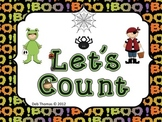 "Halloween ""Let's Count"""
