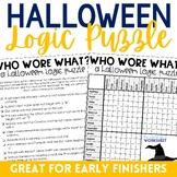 Halloween Logic Puzzle