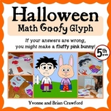 Halloween Math Goofy Glyph (5th grade Common Core)