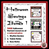 Halloween Music Resources Bundle 1
