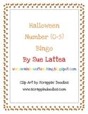 Halloween Number (0-5) Bingo