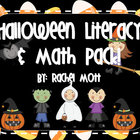 Halloween & October Literacy and Math Pack!