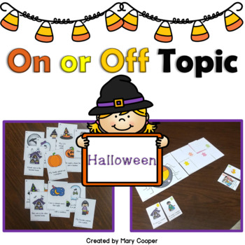 Halloween On or Off Topic #OctSLPMustHave