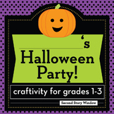 Halloween Party Planning Craftivity