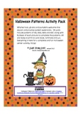 Halloween Patterns Activity Pack