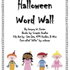 Halloween Portable Word Wall