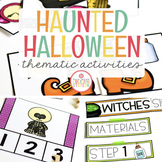 Halloween: Preschool, Pre-K and Kindergarten Resources