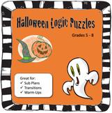 Halloween Puzzle, Logic Puzzle