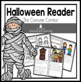 Halloween Reader: Holiday Series- The Costume Party  {Earl