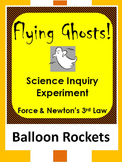 Halloween Science STEM Inquiry force experiment-Newton's 3