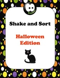 ABC Order - Shake and Sort - Halloween