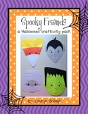 Halloween: Spooky Friends Craftivity Pack