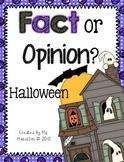 Halloween Fact Or Opinion?  [Literacy Center]
