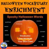 Halloween Vocabulary PowerPoint