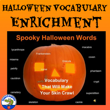 Halloween Vocabulary PowerPoint