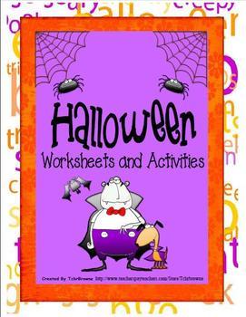 Halloween Worksheets and Activities