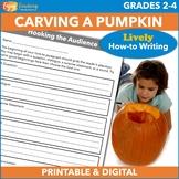 Halloween Writing - How to Carve a Pumpkin