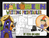 Halloween Writing Printables {With Craftivity!}
