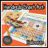 Halloween/Autumn Hundreds Chart Art (Mystery Picture)