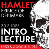 Hamlet, Dazzling Lecture Materials to Launch Shakespeare's