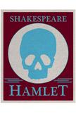 Hamlet Yorick Skull Poster
