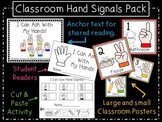 Hand Signal Classroom Pack