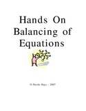 Hands On Balancing of Equations