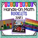 Hands-On Math Booklet 3.NF.1 {Fractions} FREE