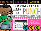 Handwriting With A Punch