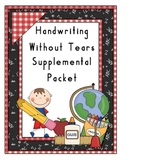 Handwriting Without Tears Packets