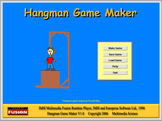 Games - Hangman Maker and Player Software 50% Off