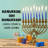 Hanukkah, Oh! Hanukkah {Literacy Centers & Writing Activities}