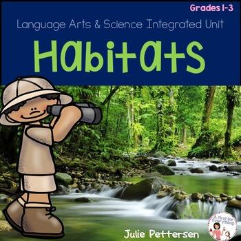 Habitats:  A unit on Forest, Desert, Arctic, Ocean and Jungle Habitats