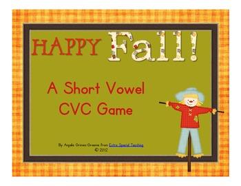 Happy Fall - A CVC Game