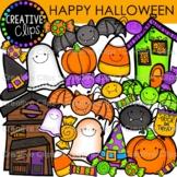 Happy Halloween {Creative Clips Digital Clipart}