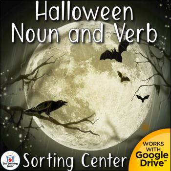 Happy Haunting Noun & Verb Sorting Center~Common Core Aligned!