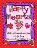 Happy Hearts Valentine Math and Literacy Unit