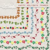 Happy Holidays Frames