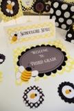 Classroom Decor Happy Honeybee Door Sign
