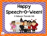 Happy Speech-O-Ween: A Halloween Thematic Unit