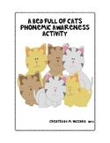 Harcourt A Bed Full of Cats Phonemic Awareness Activity (S