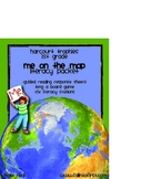 """Harcourt Trophies """"Me On The Map"""" - 1st Grade Literacy Packet"""